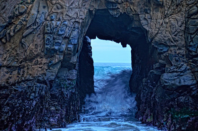 Julia Pfeiffer beach Big Sur