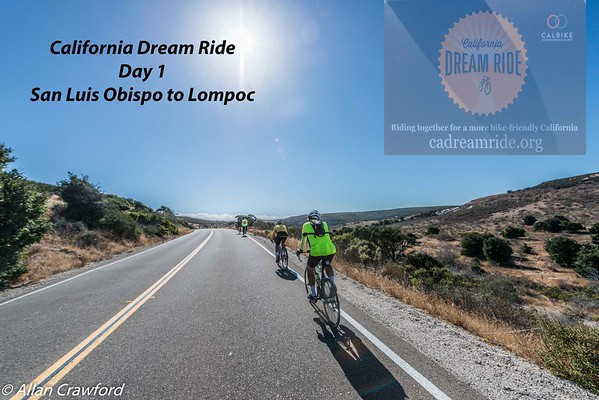 California dream ride 2016 day 1