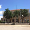 County courthouse in Pacos, Texas of Reeves Country