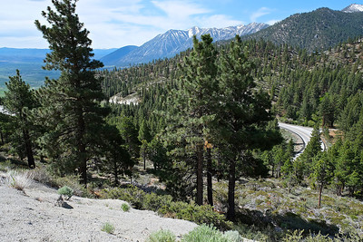 Traveling South on US 395