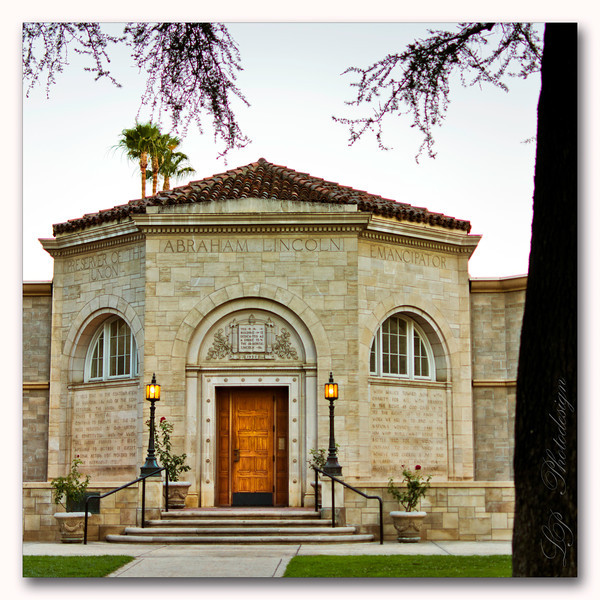 The Lincoln Memorial Shrine in Redlands, California