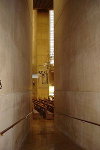 Interior of Los Angeles Cathedral
