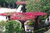 Sculptural element at Robert Irwin's Central Garden at the Getty.
