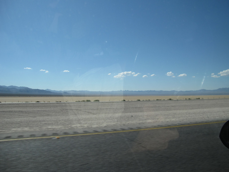 Southeastern California is barren!