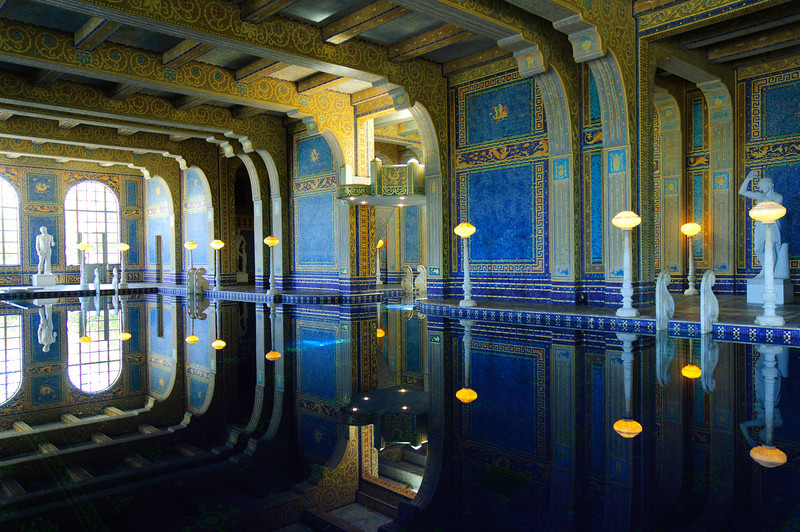 Hearst Castle, San Simeon, California Coast