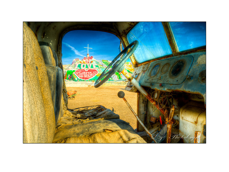 Salvation Mountain, Niland California