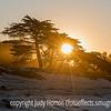 Sunset at Carpinteria Beach,California