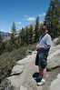 Chris on the hike to Sentinel Dome in Yosemite Park