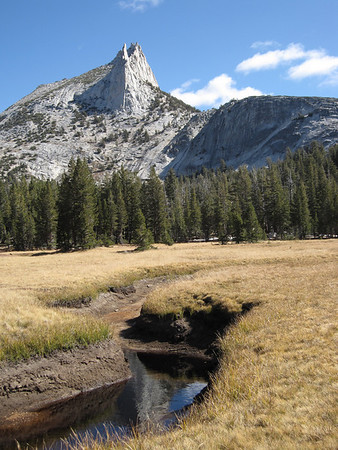 view from cathedral lake