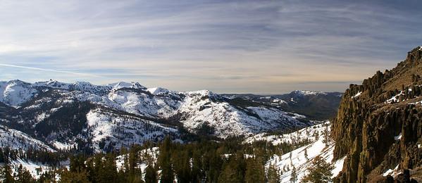 Winter coat over the Sierra Nevada.