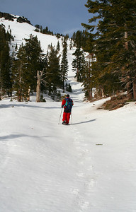 Day snowshoe tour to the Deep Creek Drainage Area.