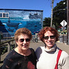 Lovely ladies, mother and daughter Betty and Arah, in Newport, Oregon.