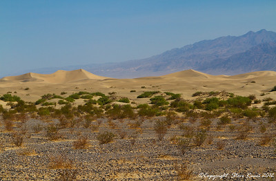 The Mesquite Flat sand dunes, Death Valley National Park - California.