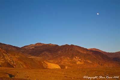 Sunset in Death Valley National Park - California