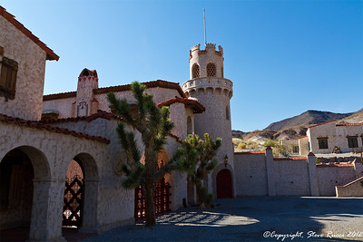 Scotty's Castle, Death Valley National Park - California.