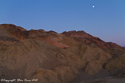 At Artists Palette, Death Valley National Park - California