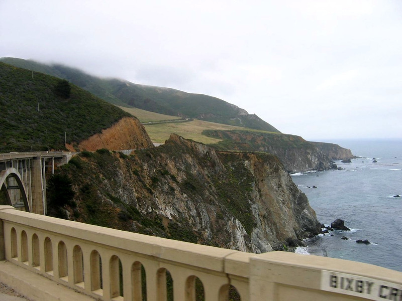 View toward Big Sur from Monterey
