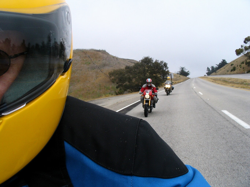 Saturday - returning from Big Sur