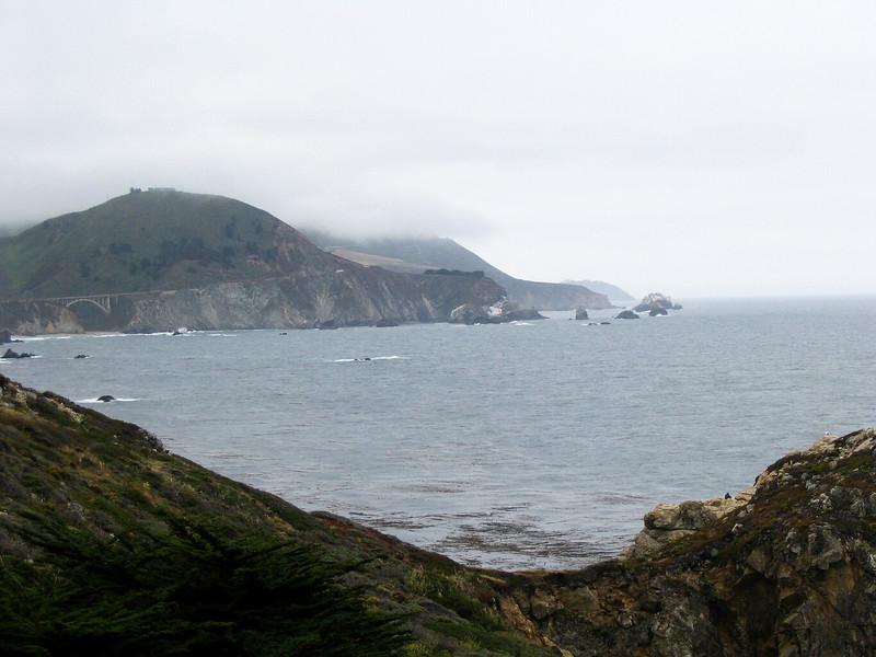 Saturday ride - view toward Big Sur from Carmel