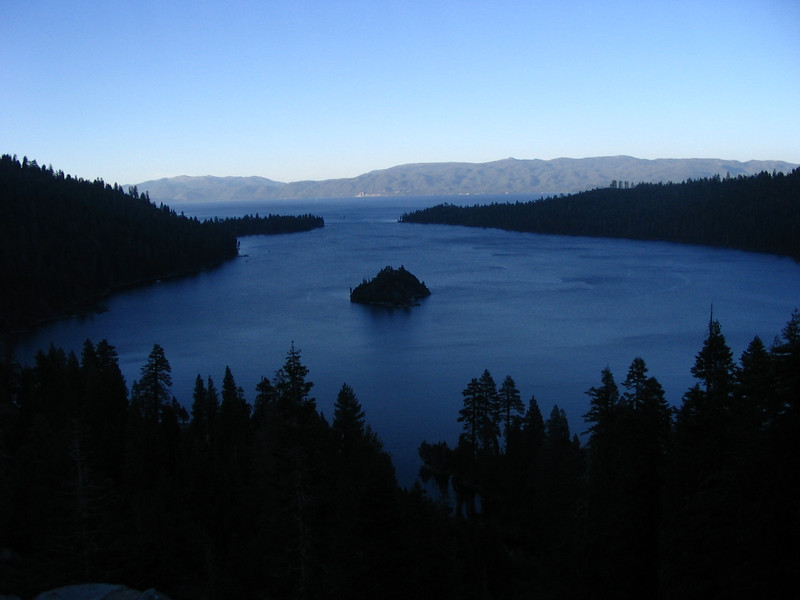 Tuesday - This was taken near dusk on the 3rd day on the south end of Lake Tahoe. Another 400+ mile day from Eureka to South Lake Tahoe
