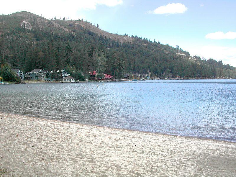 Donner Lake beach
