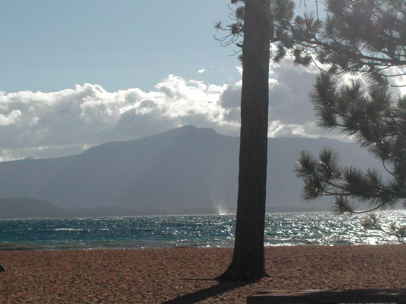 Waterspout, Lake Tahoe