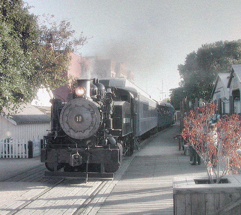 Train, Old Sacramento