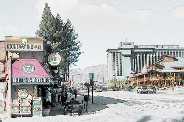Nevada/California Border
