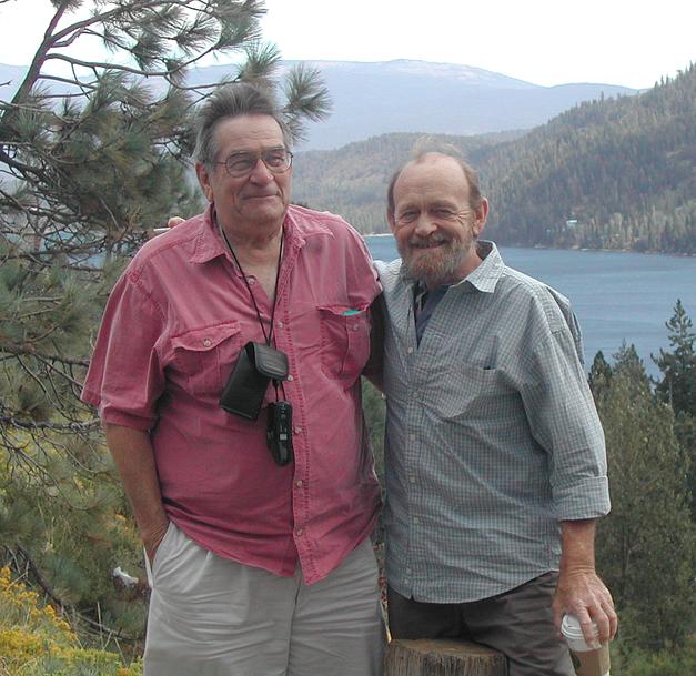 Gail, Bill at Donner Lake