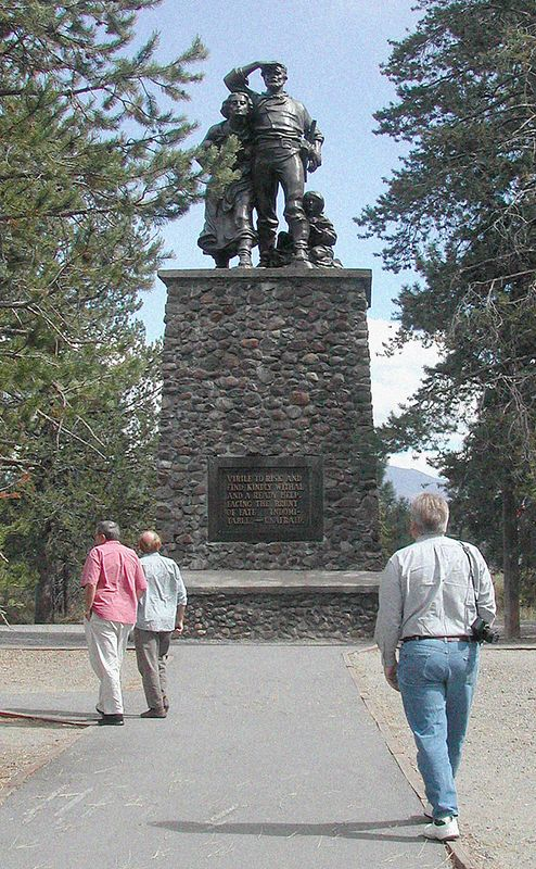 Memorial to Donner Party