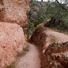 one of the better shots illustrating the rock at Pinnacles National Monument.  Yep, it's really that color.