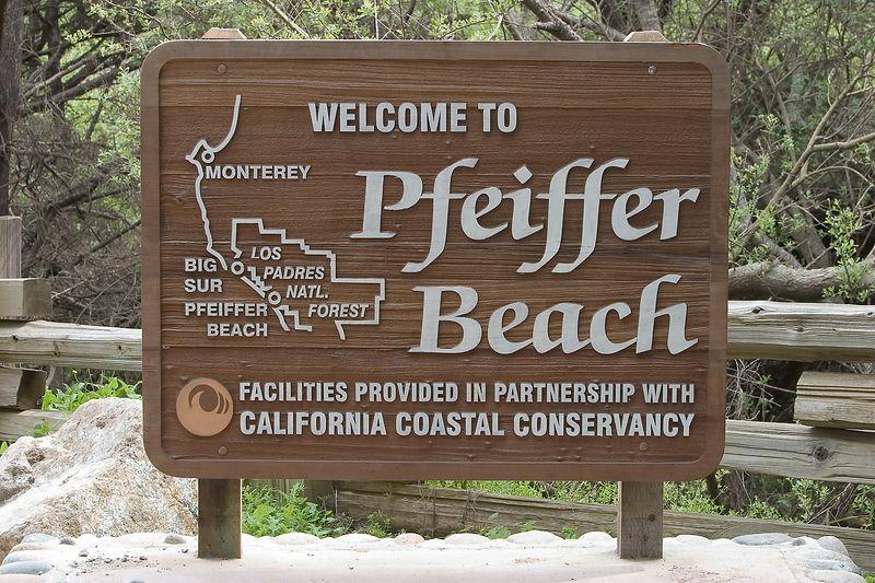Big Sur - Pfeiffer Beach