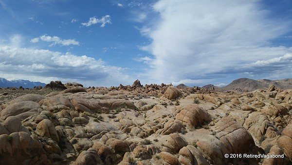 Rock formations Alabama Hills