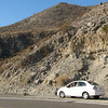 Heading Back From Borrego Springs - That's Randal in Our Rental Car  2-14-07