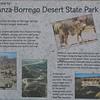 Signage - Anza-Borrego Desert State Park   2-14-07