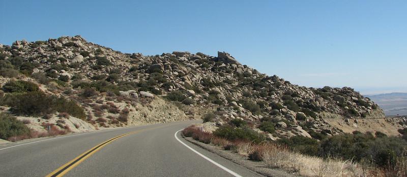 Highway 78 to Anza-Borrego Desert State Park  2-14-07