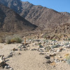 Recognizing the Trail Was a Bit of a Challenge - Anza-Borrego Desert State Park   2-14-07