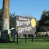 Entering Borrego Springs, CA