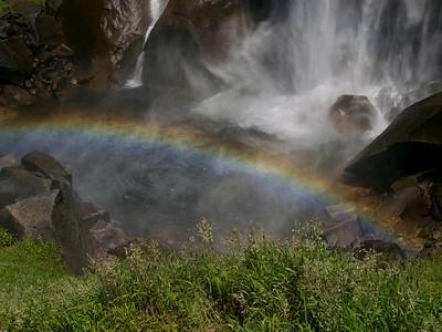 Foot of Vernal Falls Yosemite NP Copyright 2010 Neil Stahl