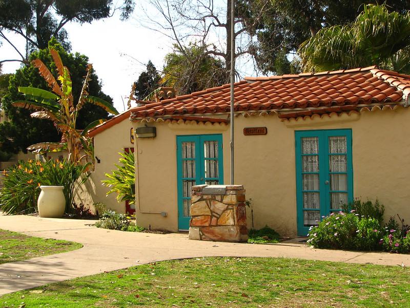Scotland House - Scenes at Balboa Park, San Diego 2-13-07