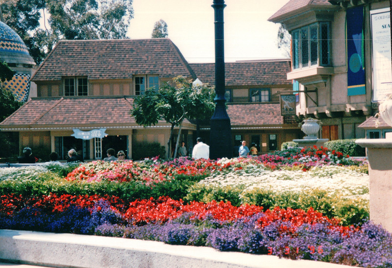 Flowers and Shops - Balboa Park - San Diego, CA  3-31-96