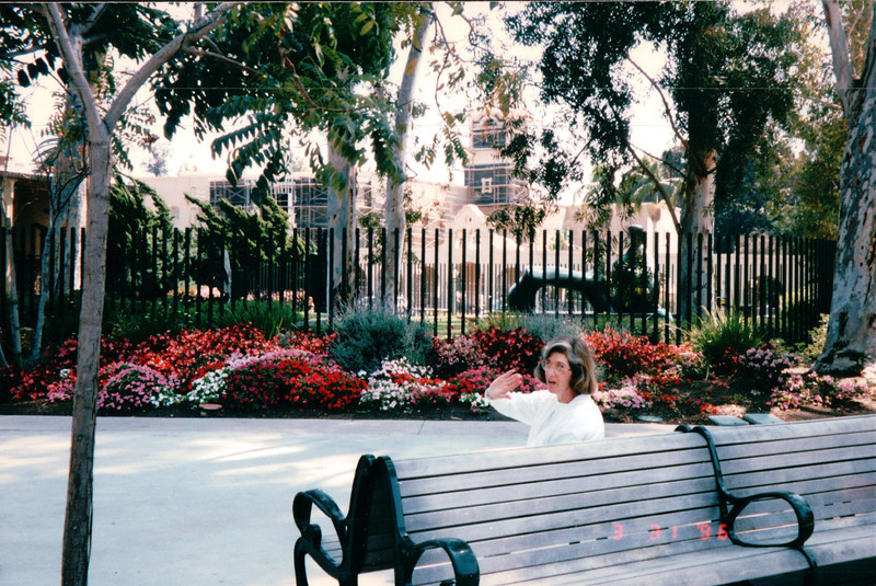 Dianne - Balboa Park - San Diego, CA  3-31-96