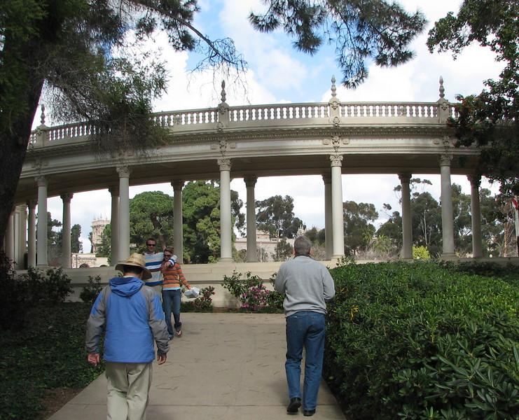 Scenes at Balboa Park, San Diego 2-13-07