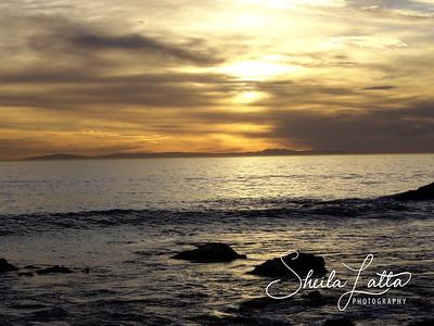 Sunset at Moss Beach