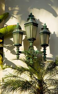 Beverly Hills City Hall, beautiful lights