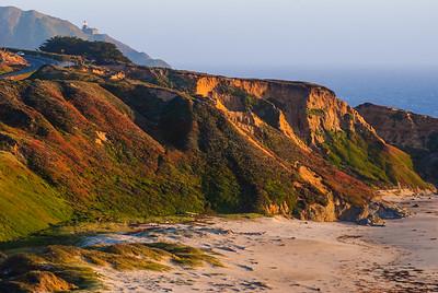Late Afternoon Sun near Point Sur Lighthouse