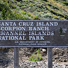 2019-04-17_Santa Cruz Is_Scorpion Ranch_Sign_1.JPG<br /> Scorpion Landing, Santa Cruz Island, Channel Islands