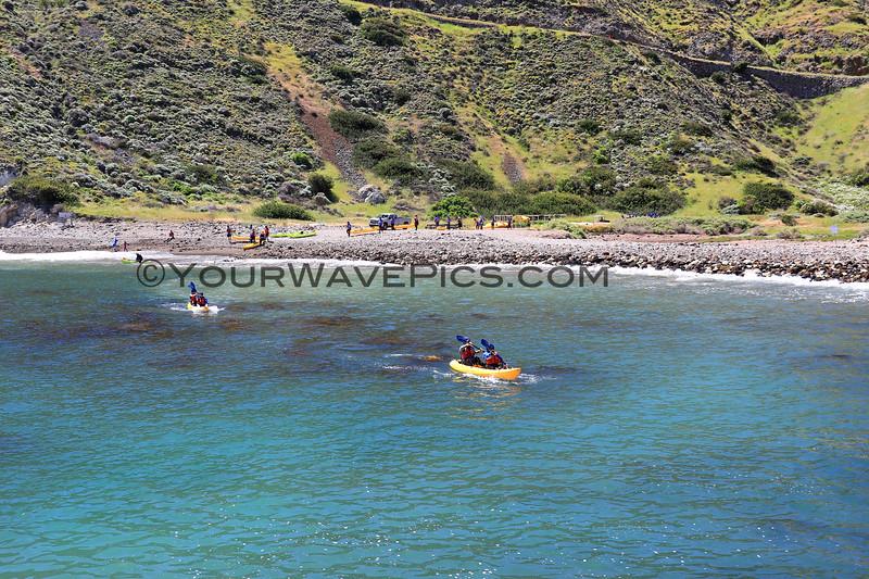 2019-04-17_Santa Cruz Is_Scorpion_Kayakers_76.JPG<br /> Scorpion Landing, Santa Cruz Island, Channel Islands