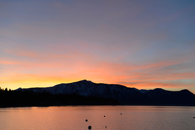 Sunset - Lake Tahoe - California - USA