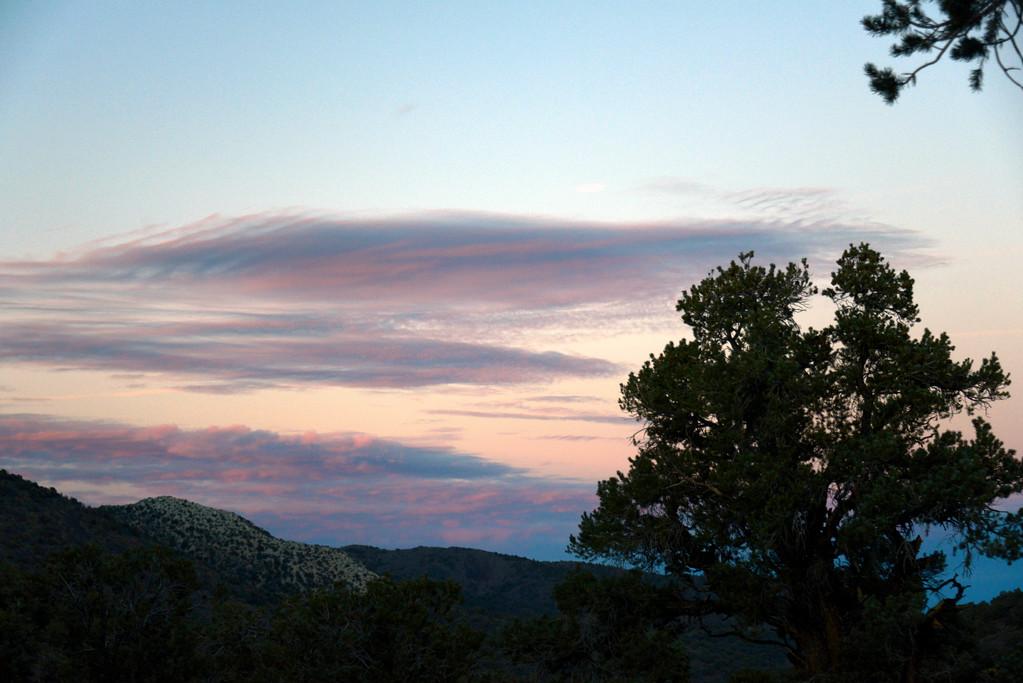 Sunset - Big Pine - California - USA